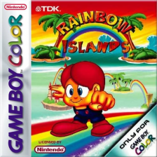 Rainbow Islands Nintendo Game Boy Color cover artwork