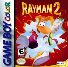Rayman 2 - The Great Escape Nintendo Game Boy Color cover artwork