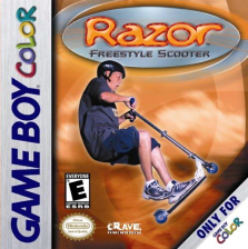 Razor Freestyle Scooter Nintendo Game Boy Color cover artwork