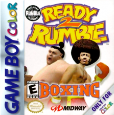 Ready 2 Rumble Boxing Nintendo Game Boy Color cover artwork