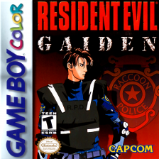 Resident Evil Gaiden Nintendo Game Boy Color cover artwork
