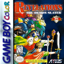 Revelations - The Demon Slayer Nintendo Game Boy Color cover artwork