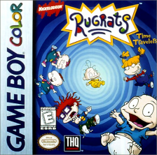 Rugrats - Time Travelers Nintendo Game Boy Color cover artwork