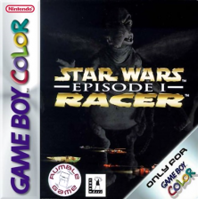 Star Wars Episode I - Racer Nintendo Game Boy Color cover artwork