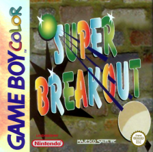 Super Breakout! Nintendo Game Boy Color cover artwork