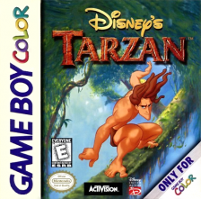 Tarzan Nintendo Game Boy Color cover artwork