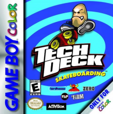 Tech Deck Skateboarding Nintendo Game Boy Color cover artwork