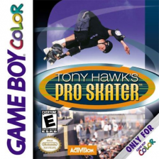 Tony Hawk's Pro Skater Nintendo Game Boy Color cover artwork