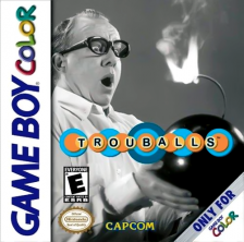 Trouballs Nintendo Game Boy Color cover artwork