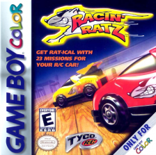 Tyco RC - Racin' Ratz Nintendo Game Boy Color cover artwork