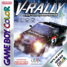V-Rally - Championship Edition Nintendo Game Boy Color cover artwork
