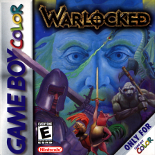 Warlocked Nintendo Game Boy Color cover artwork