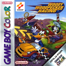 Woody Woodpecker Racing Nintendo Game Boy Color cover artwork