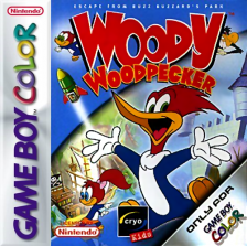Woody Woodpecker Nintendo Game Boy Color cover artwork