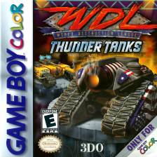 World Destruction League - Thunder Tanks Nintendo Game Boy Color cover artwork