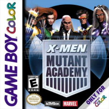 X-Men - Mutant Academy Nintendo Game Boy Color cover artwork