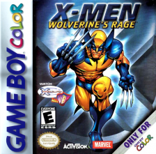X-Men - Wolverine's Rage Nintendo Game Boy Color cover artwork