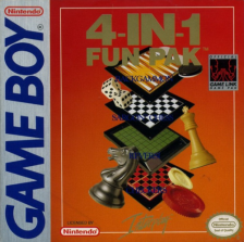 4-in-1 Fun Pak Nintendo Game Boy cover artwork