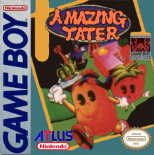 A-mazing Tater Nintendo Game Boy cover artwork