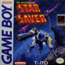 Adventures of Star Saver, The Nintendo Game Boy cover artwork