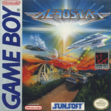 Aerostar Nintendo Game Boy cover artwork