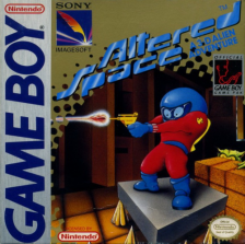 Altered Space - A 3-D Alien Adventure Nintendo Game Boy cover artwork