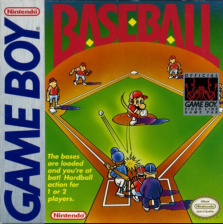 Baseball Nintendo Game Boy cover artwork