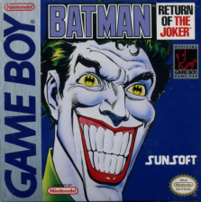 Batman - Return of the Joker Nintendo Game Boy cover artwork