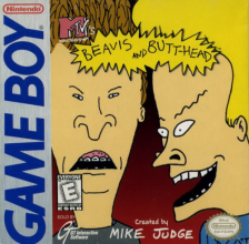 Beavis and Butt-Head Nintendo Game Boy cover artwork