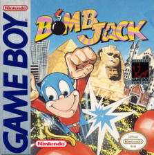 Bomb Jack Nintendo Game Boy cover artwork