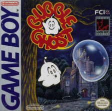 Bubble Ghost Nintendo Game Boy cover artwork