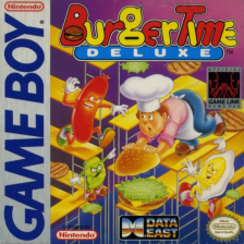 BurgerTime Deluxe Nintendo Game Boy cover artwork