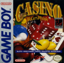 Casino FunPak Nintendo Game Boy cover artwork