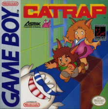 Catrap Nintendo Game Boy cover artwork