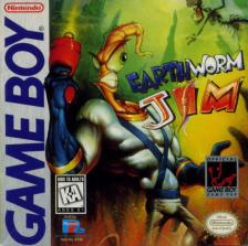 Earthworm Jim Nintendo Game Boy cover artwork