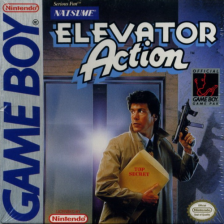 Elevator Action Nintendo Game Boy cover artwork