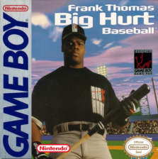 Frank Thomas Big Hurt Baseball Nintendo Game Boy cover artwork