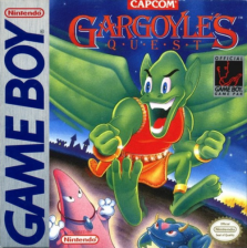 Gargoyle's Quest Nintendo Game Boy cover artwork