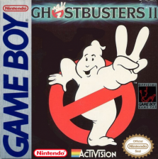 Ghostbusters II Nintendo Game Boy cover artwork