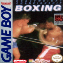 Heavyweight Championship Boxing Nintendo Game Boy cover artwork