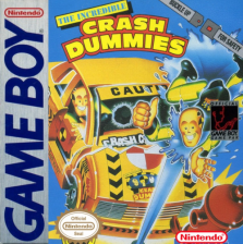 Incredible Crash Dummies, The Nintendo Game Boy cover artwork