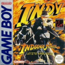 Indiana Jones and the Last Crusade Nintendo Game Boy cover artwork