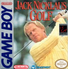 Jack Nicklaus Golf Nintendo Game Boy cover artwork
