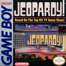 Jeopardy! Nintendo Game Boy cover artwork