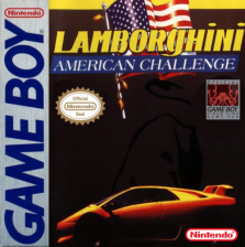Lamborghini American Challenge Nintendo Game Boy cover artwork
