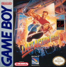 Last Action Hero Nintendo Game Boy cover artwork