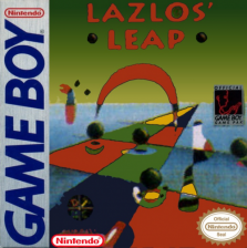 Lazlos' Leap Nintendo Game Boy cover artwork
