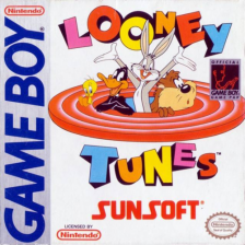 Looney Tunes Nintendo Game Boy cover artwork