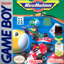 Micro Machines Nintendo Game Boy cover artwork