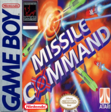 Missile Command Nintendo Game Boy cover artwork